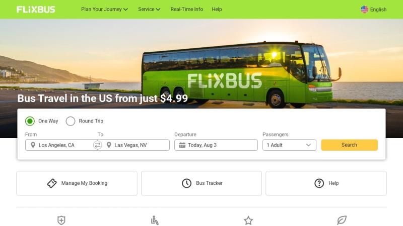 www.flixbus.de Vorschau, Der Fernbus von FlixBus