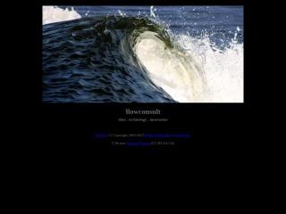 Screenshot der Website flowconsult.at
