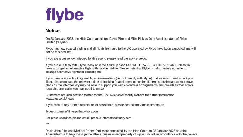 www.flybe.com Vorschau, Flybe.com