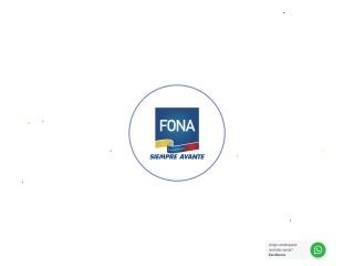 Captura de pantalla para fona.gob.ve