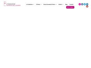 screenshot fondazionebellisario.org