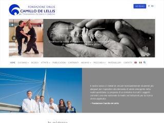 screenshot fondazionedelellis.net