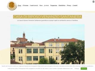 screenshot fondazionesantanera.it