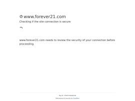 Online store Forever21