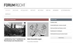 www.forum-recht-online.de Vorschau, Forum Recht