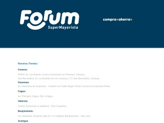 Captura de pantalla para forum.com.ve