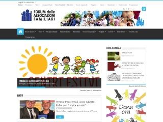 screenshot forumfamiglie.org