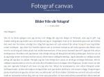 Fotograf Canvas