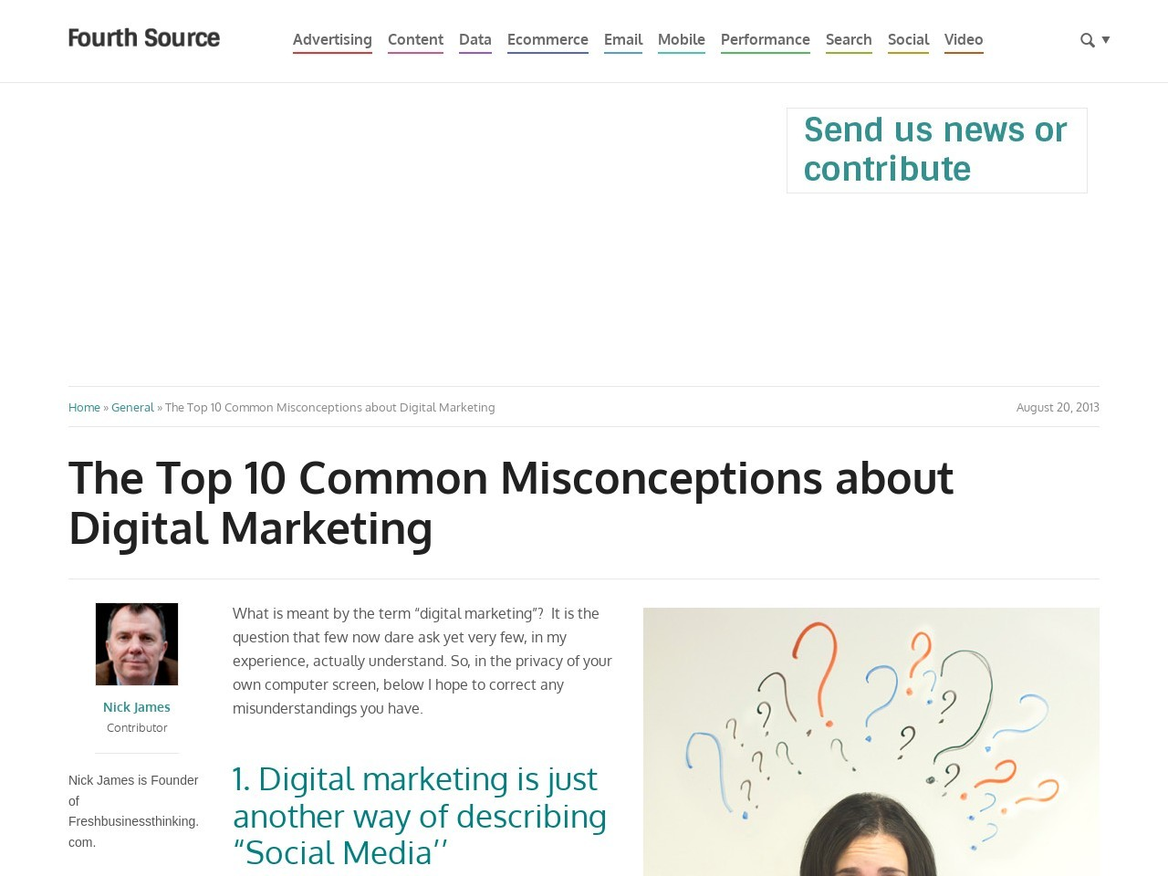 The Top 10 Common Misconceptions about Digital Marketing