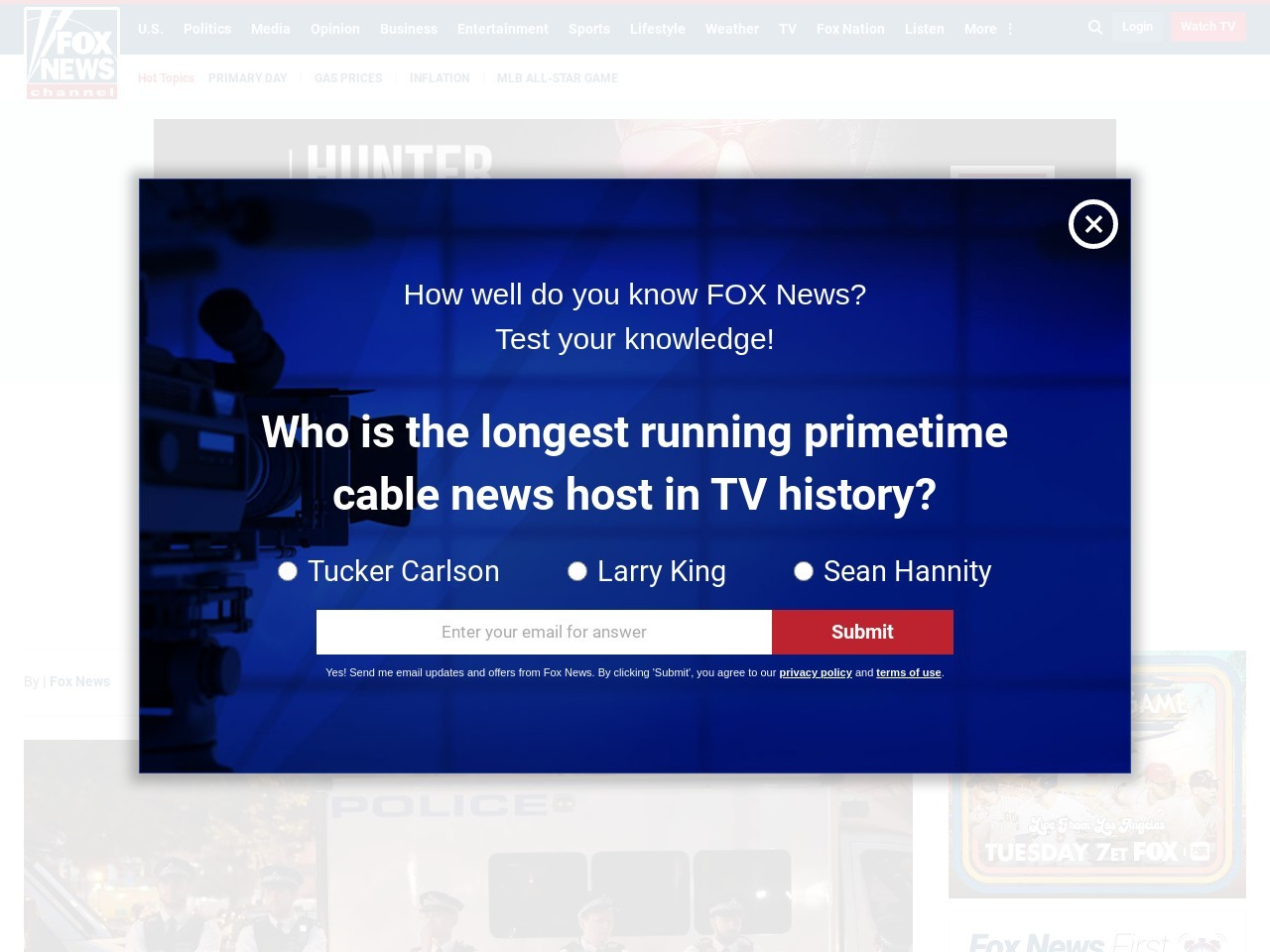 DEADLY DRIVER BLEW A KISS  Terror eyed after van plows into London mosque crowd, killing 1