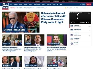 Screenshot for foxnews.com