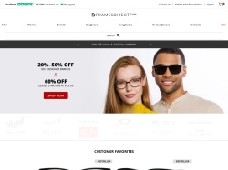 FramesDirect.com screenshot