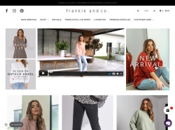 Frankie & Co Promo Codes 2019