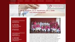 www.frauenarzt-aschaffenburg.de Vorschau, Frauenarzt Dr. Kienholz