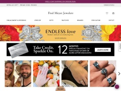 Fred Meyer Jewelers screenshot