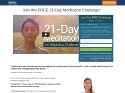 21 Day Meditation for Weightloss