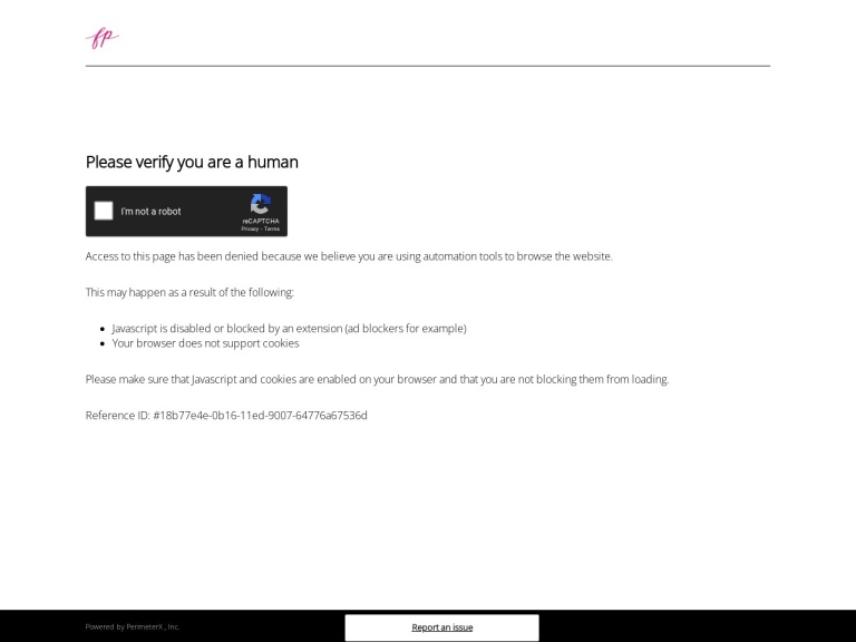 Free People screenshot