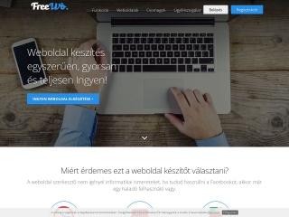 freewb.hu webhely képe