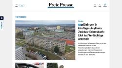 www.freiepresse.de Vorschau, Freie Presse Online