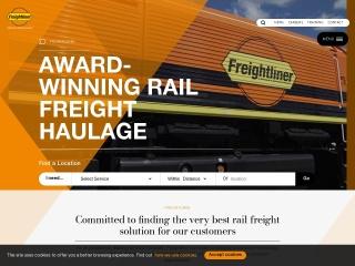 Screenshot for freightliner.co.uk