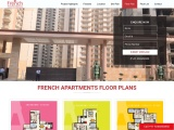 French Apartments Noida Floor Layout