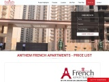 French Apartments Noida Extension Price List