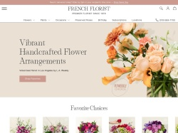 Frenchflorist coupon codes October 2018