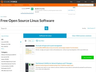 Screenshot for freshmeat.net