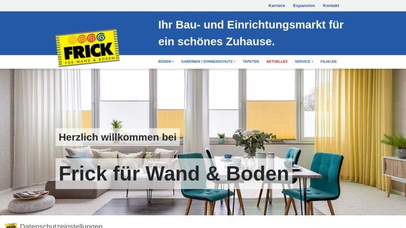 www.frick-fachmarkt.de Vorschau, Goldkuhle Fachmärkte GmbH