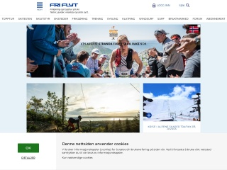 Screenshot for friflyt.no