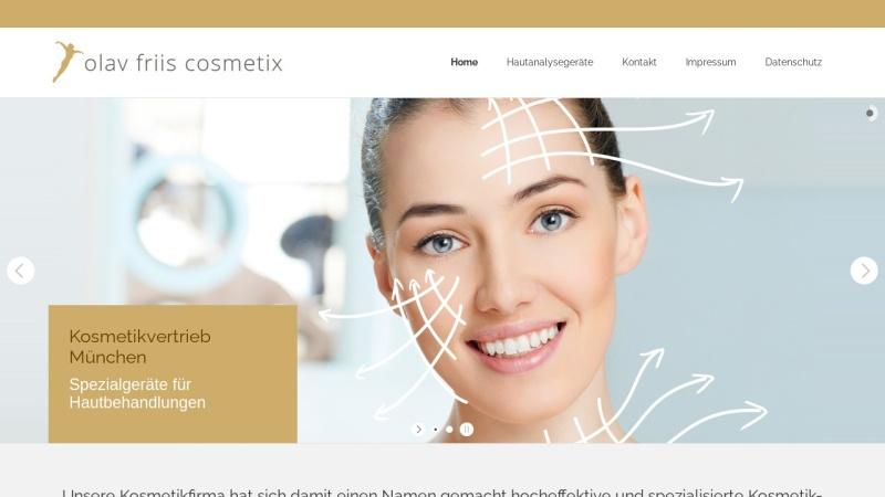 www.friis-cosmetix.de Vorschau, Olav Friis Cosmetix