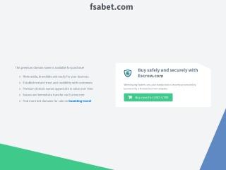 Screenshot for fsabet.com