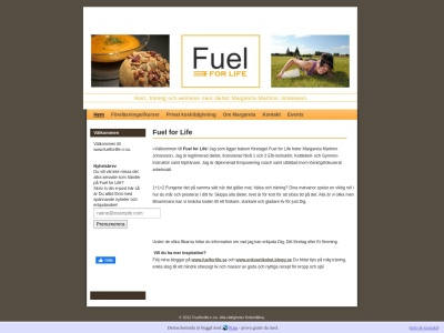 www.fuelforlife.n.nu