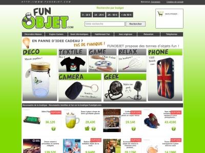 FunObjet.com : Cadeaux insolites