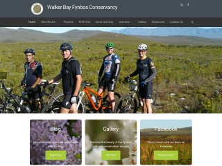 Screenshot for fynbos.co.za