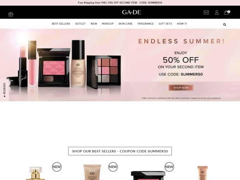 Ga-de Costmetics screenshot