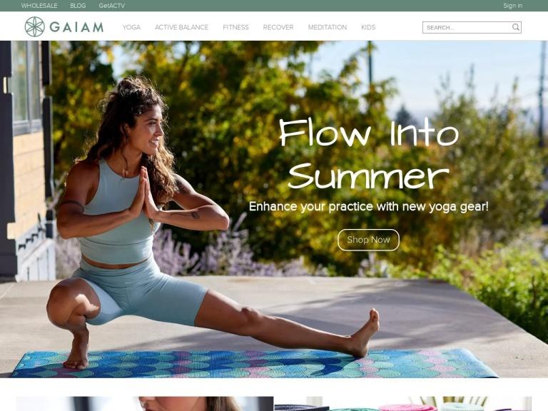 Gaiam.com, Inc screenshot