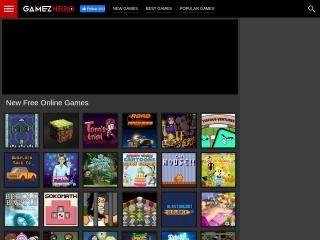 Captura de pantalla para gamezhero.com