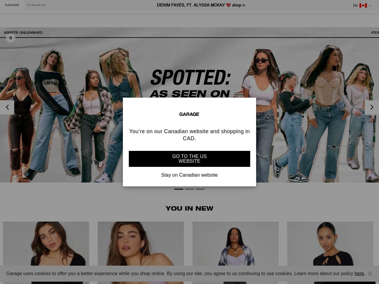 Garage Store USA screenshot