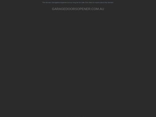 Garage Door Automation with ZIP Payment Melbourne