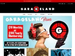 Garageland coupon codes August 2018