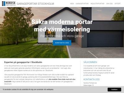 garageportarstockholm.se