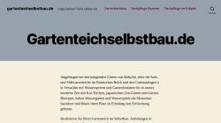 www.gartenteichselbstbau.de Vorschau, Gartenteich im Selbstbau