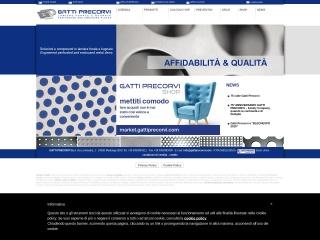 screenshot gattiprecorvi.com
