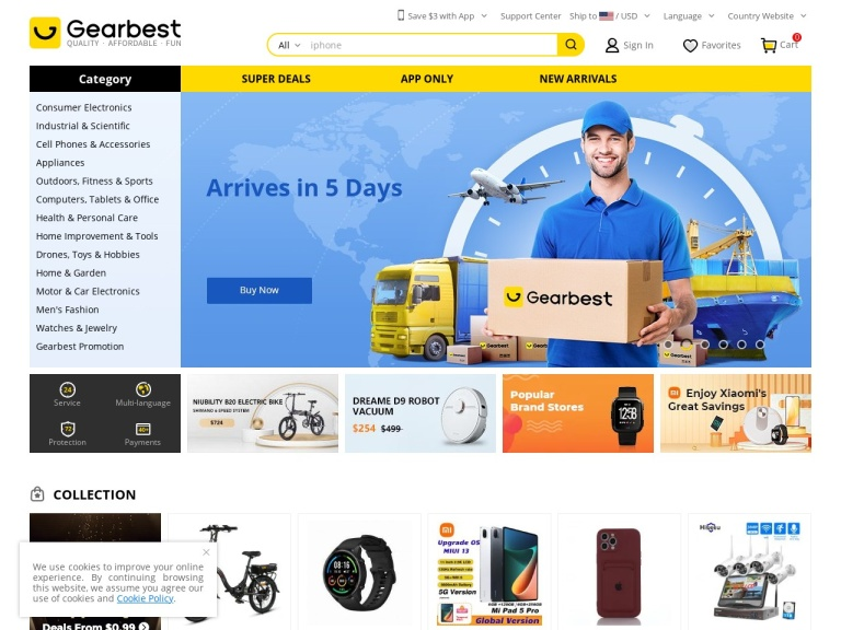 Gearbest.com Coupon Codes