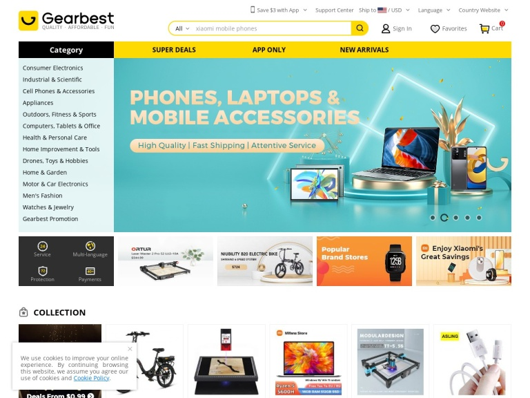 GearBest-Category Coupon for  Health & Beauty