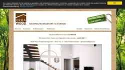 www.geba.de Vorschau, Banzhaf Geba Haus