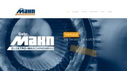 www.gebr-mahn.de Vorschau, Gebr. Mahn GmbH