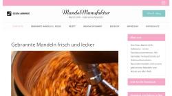 www.gebrannte-mandeln.de Vorschau, Gebrannte Mandeln
