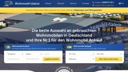 www.gebrauchtewohnmobile.de Vorschau, Wohnmobil-Galerie GmbH